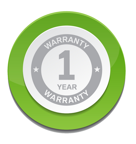+1 Year Parts and Labor Warranty