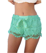 Lace Crochet Womens Shorts