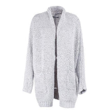 Long Loose Knitted Cardigan