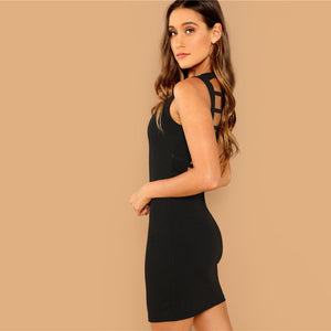 Night Out Backless Dress