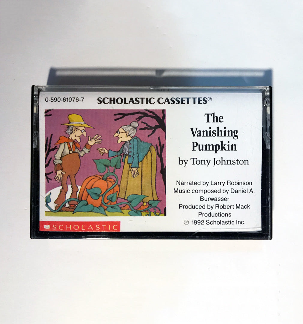 The Vanishing Pumpkin - Tony Johnston - Scholastic Cassettes