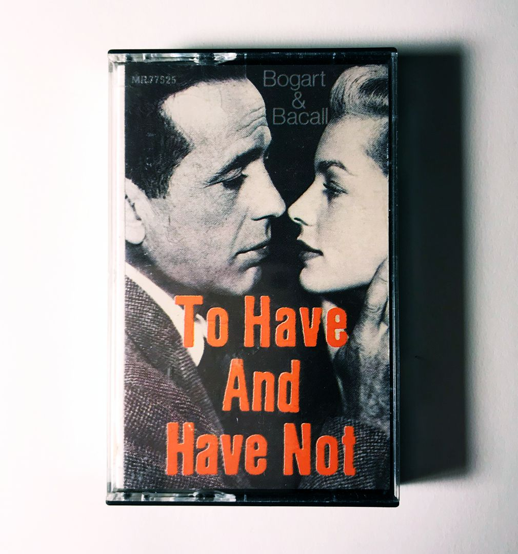 To Have and Have Not with Bogart & Bacall
