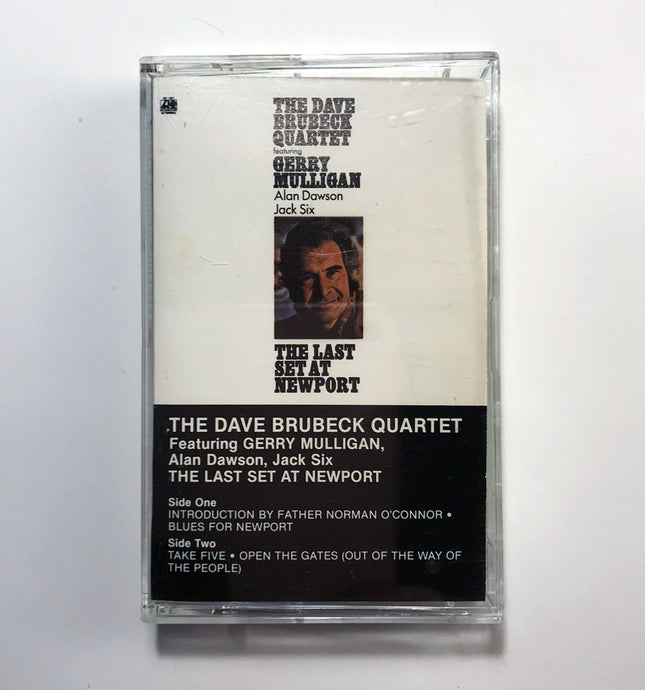 The Dave Brubeck Quartet featuring Gerry Mulligan - Alan Dawson - Jack Six - The Last Set at Newport