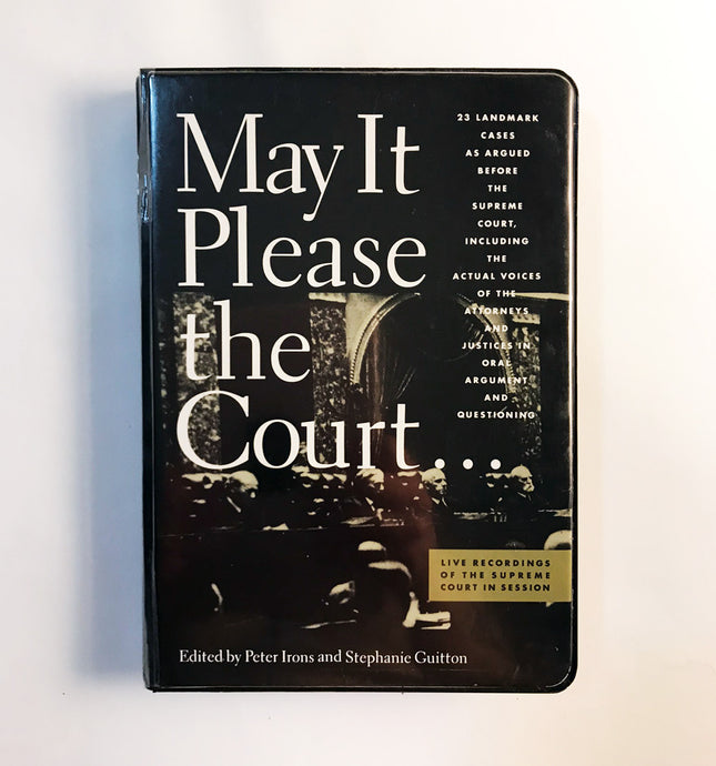 May It Please the Court - 6 Cassette Collection