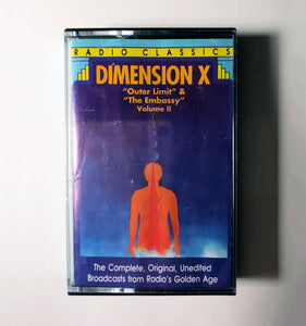 "Dimension X - ""The Outer Limit"" & ""The Embassy"" Volume II"