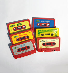 Sesame Street - Mixed Lot of 6 Cassettes!