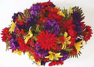 Artificial flower arrangements for cemeteries fathers day headstone spray arrangement mightylinksfo