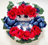 Memorial Day Cemetery Wreath
