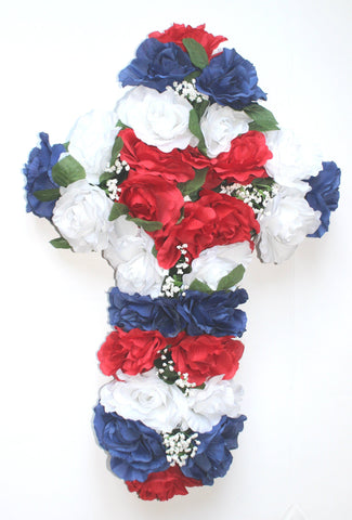 GSF's Premium Exclusive All American Memorial Foam Cross - 24 Inch
