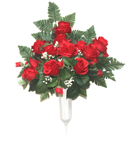 GSF's Premium Exclusive -  Rose Full Vase - Red Mix