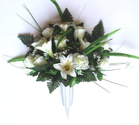 //encrypted-tbn0.gstatic.com/images?q\u003dtbnANd9GcQMWeNXzJC04Ee1oL0nedsfvurP9UIvaqRO8-7o-m62ACxZGFdk & Graveside Flowers - Artificial Flower Arrangements for ...