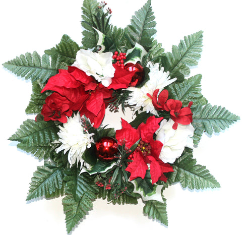 GSF's Wreath - Christmas Mix - 12 Inch