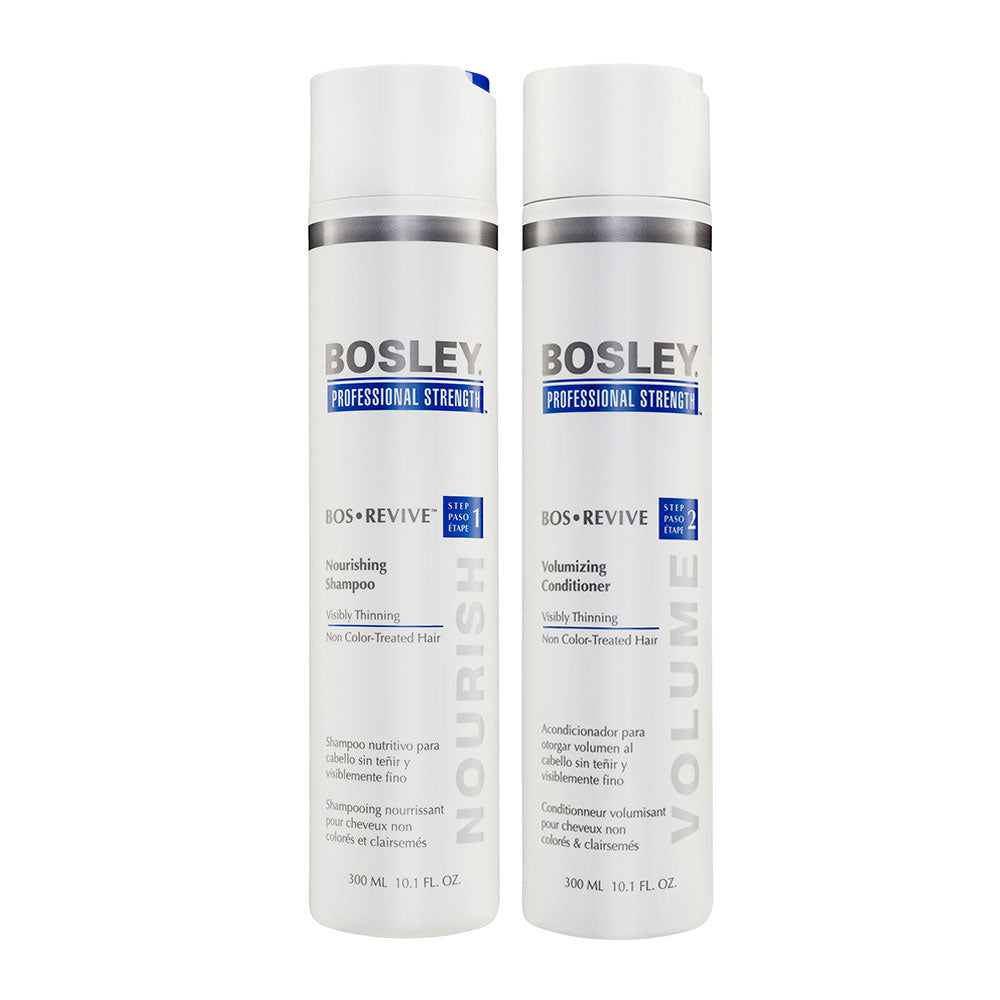 BosRevive Shampoo/Conditioner Duo For Non Color Treated Hair 300ml