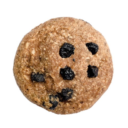 sugar free blueberry oats cookie