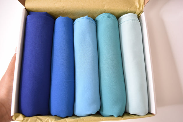 Chiffon Luxury Blue Box