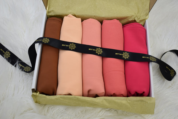 Chiffon Luxury Salmon Box