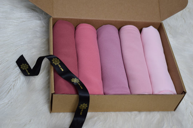 Chiffon Luxury Blush Box