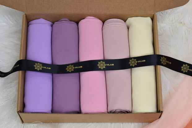 Chiffon Luxury Pastel Box