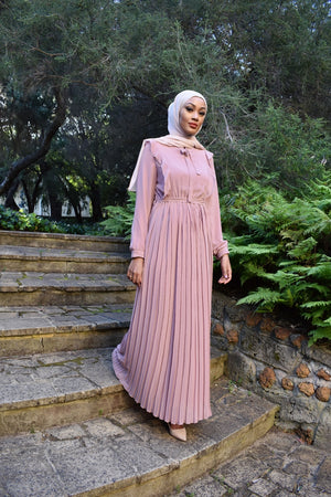ANAB Pleated Dress