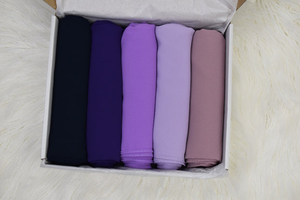 Chiffon Luxury Violet Box