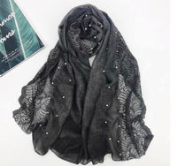 Cotton Lace Edge - Dark Grey