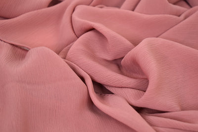 Crinkle Chiffon - Coral