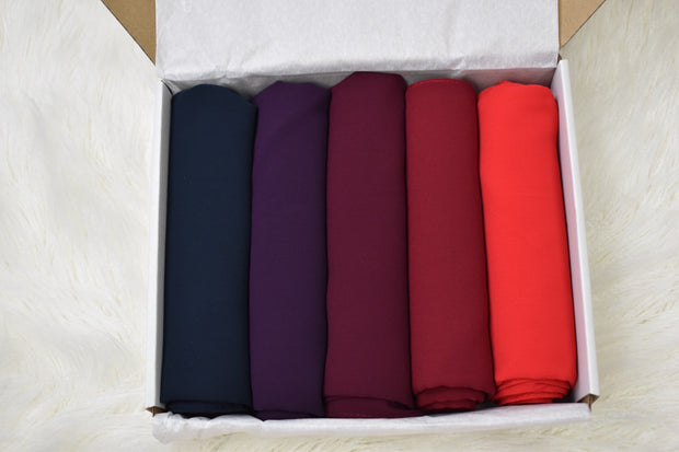 Chiffon Luxury Plum Box