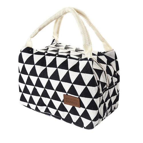 insulated tote bags zipper