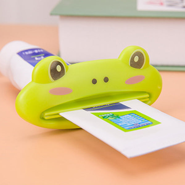 New Cute Animal Cartoon Easy Squeezer Toothpaste Tube Dispenser