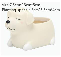 Kawaii Dog Mini Pot