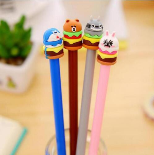 4pcs Neutral Pen Soft Kt Cathead