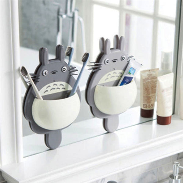 Totoro Toothbrush Wall Mount Holder Cute