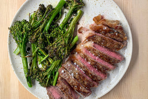 We've Seen the Light –Cooking NY Strip in the Brava