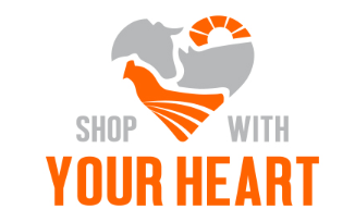 shop with your heart logo