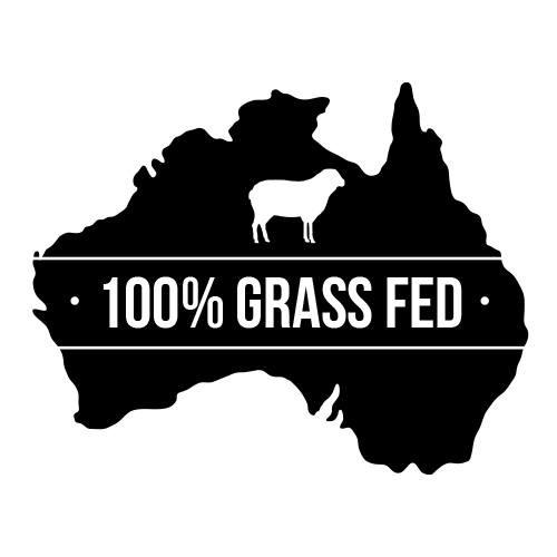 100% grass fed icon