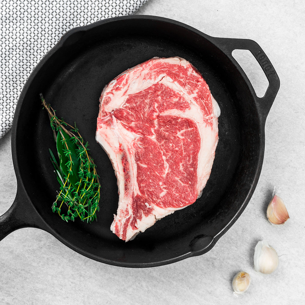 USDA Prime Black Angus Bone-in Ribeye