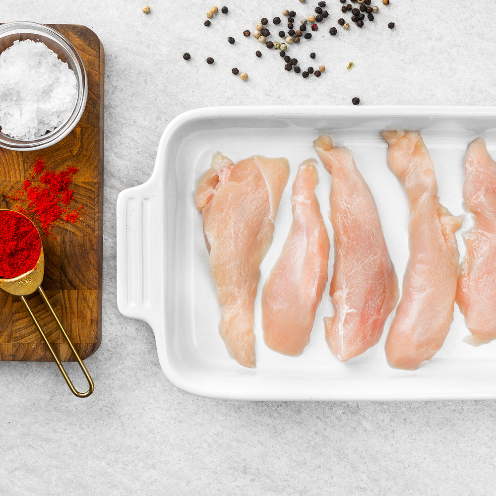 Organic Chicken Breast Strips