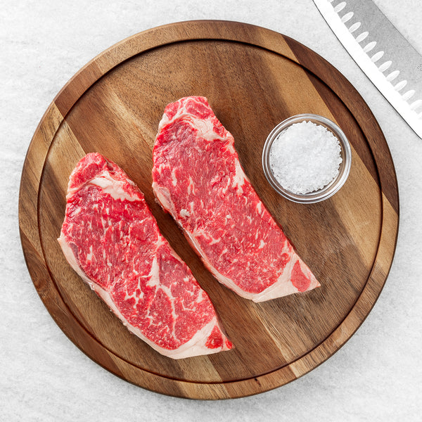 USDA Prime Black Angus NY Strip Steak
