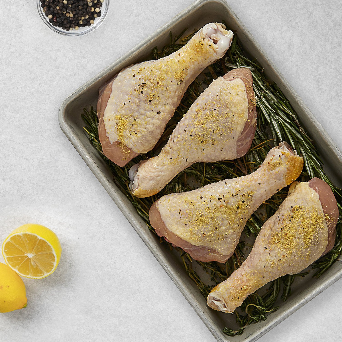 Our USDA Certified Organic Chicken Drumsticks come from chickens sustainably and humanely raised without hormones, antibiotics or steroids.