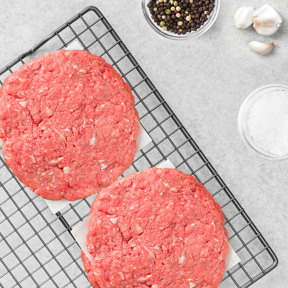 Grass-Fed Steak Craft Burgers