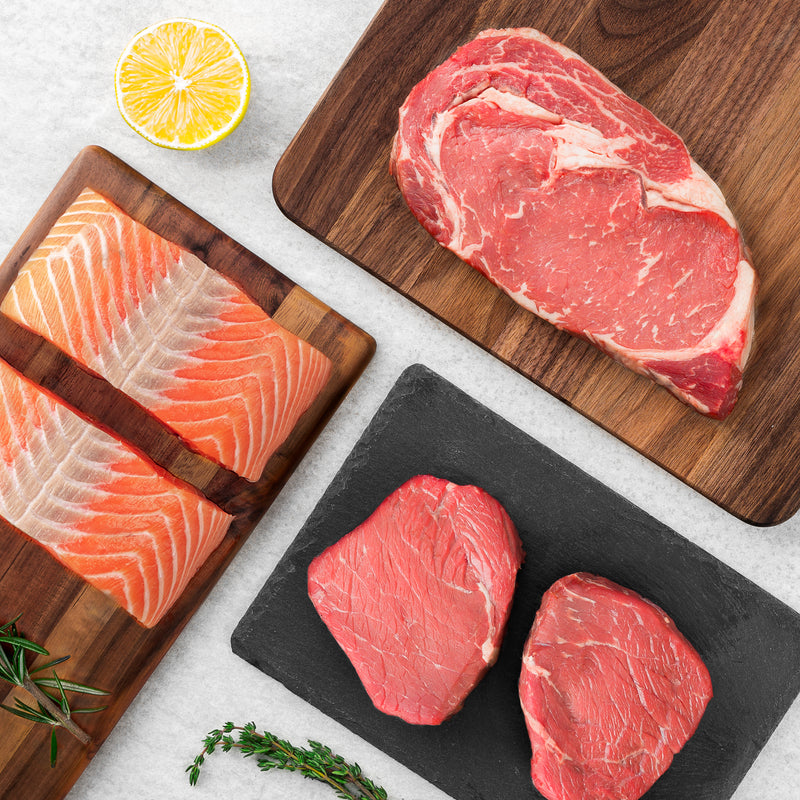Salmon & Steak Plan