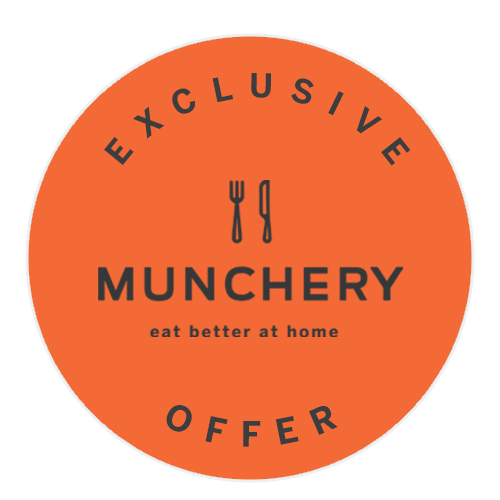 exclusive munchery offer - fork and knife icon