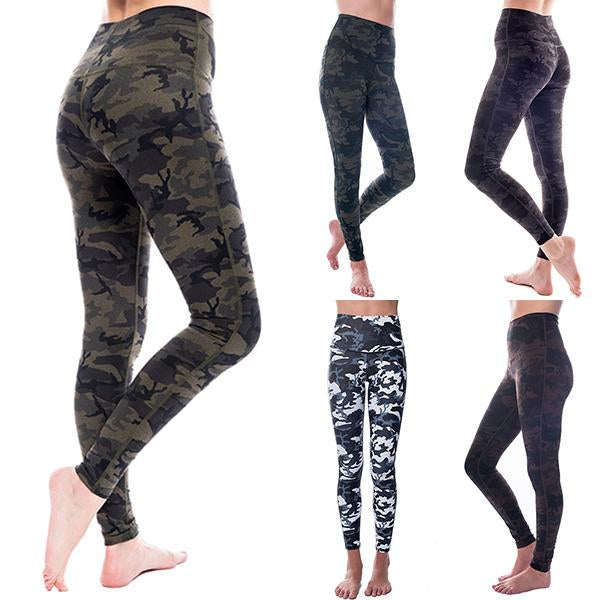 Eco-Friendly Bamboo Patch Pockets Warrior Yoga Pants