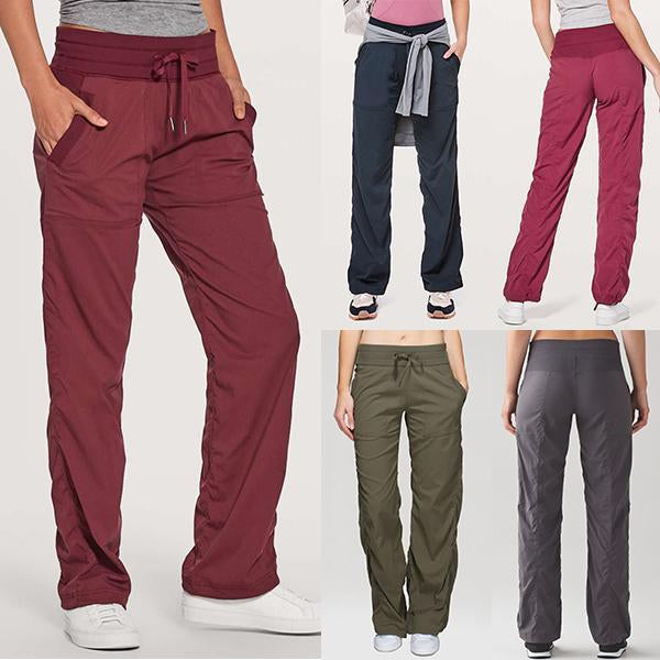 Stretchy Soft Eco-friendly Bamboo Straight Dance Pants