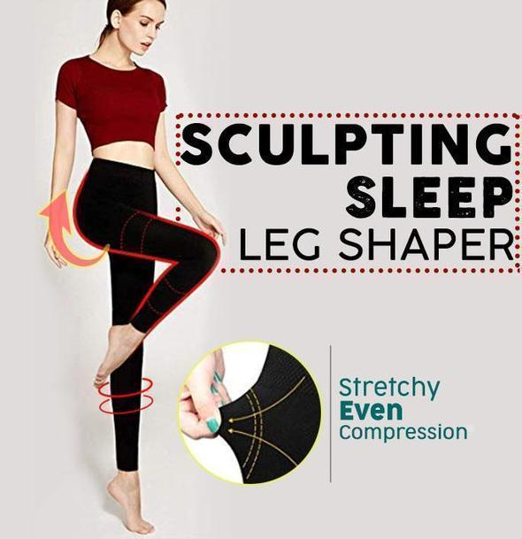 New Sculpting Sleep Leg Shaper Slim Leggings