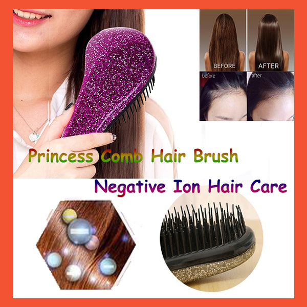 🎈INS HOT SALE 🎈Princess Comb Hair Brush Negative Ion Hair Care