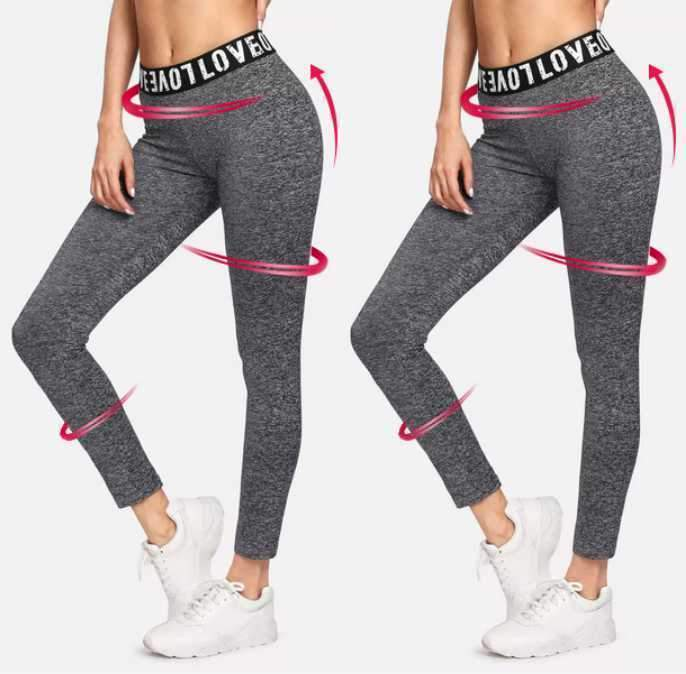 High Waist Anti-Cellulite Compression Sports Leggings