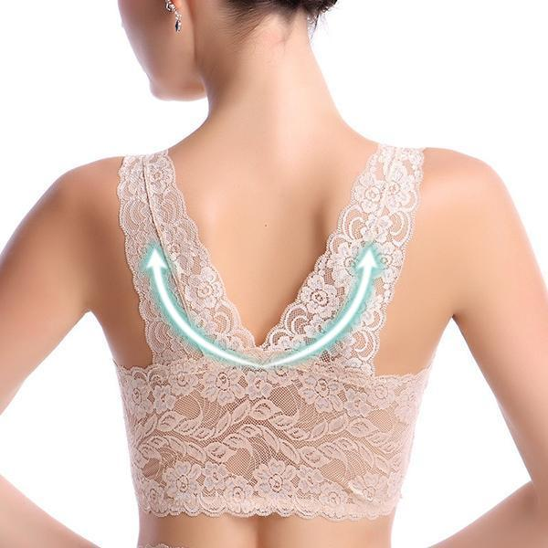 NEW DESIGN🎈WireFree Romance Lace Bra🎈