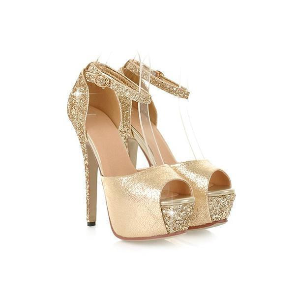 Sexy High Heels Platform Shoes Lady Pumps