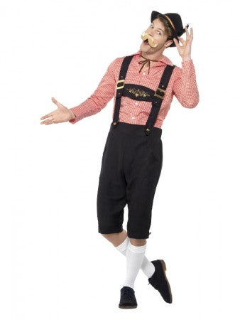 Premium Oktoberfest Bavarian Beer Guy Costume
